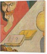 Portrait Of Jacob Meyer De Haan Wood Print