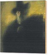 Portrait Of Manuel Dalmau Oliveres Wood Print