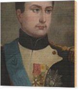 Portrait Of Napoleon Buonaparte Wood Print