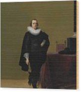Portraits Of Jacob Van De Merckt Wood Print