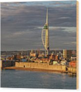 Portsmouth Harbour England  Wood Print