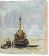 Portsmouth Wood Print