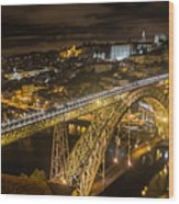 Portugal Porto Wood Print