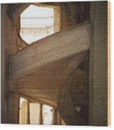 Portuguese Staircase Wood Print