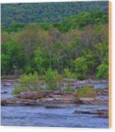 Potomac River Near Harpers Ferry Wood Print