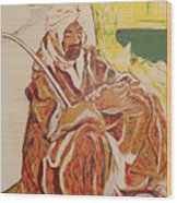 Prayer At Benghazi Wood Print