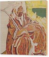 Prayer at Benghazi Wood Print