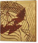 Presence - Tile Wood Print