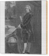 President John Adams - Two Wood Print