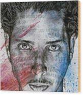 Pretty Noose - Tribute To  Chris Cornell Wood Print