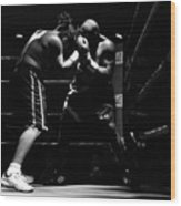 Prize Fighters Wood Print