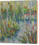 Provence South Of France Wood Print