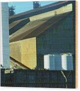 Pueblo--the Steel City Wood Print