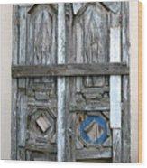 Puerta De Madera . Wood Print
