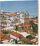Puerto Vallarta Wood Print