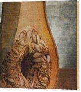 Pumpkin Anatomy Wood Print