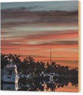 Punta Gorda From Bal Harbor Wood Print