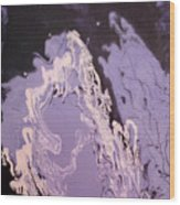 Purple Series No. 1 Wood Print