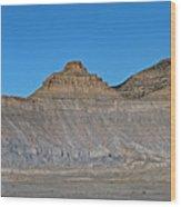 Pyramid Mountains In Emery County Utah Wood Print
