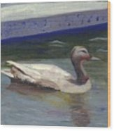 Quacker Wood Print