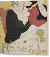 Queen Of Joy Wood Print