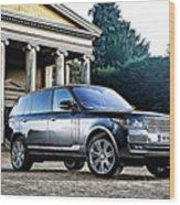 Range Rover Wood Print