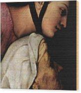 Raphael Madonna Dell Impannata  Wood Print