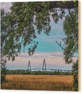 Ravenel Bridges Wood Print