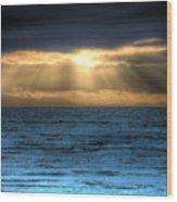 Rays Of Light 2 Wood Print
