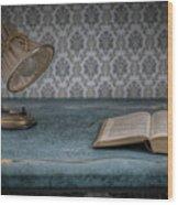 Reading Light Wood Print