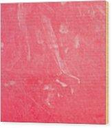 Red Plastic Wood Print