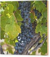 Red Vines Wood Print