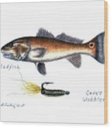 Redfish And Cave's Wobbler Wood Print