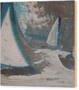 Regatta Wood Print