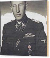Reinhard Heydrich Circa 1940 Color Added 2016 Wood Print