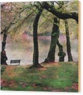 Rendezvous Wood Print