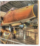 Republic F-105, Thunderchief Wood Print