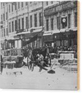 Revolution Of 1917 Wood Print