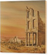 Rhyolite Nevada Wood Print