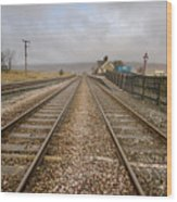 Ribblehead Station Wood Print