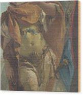 Rinaldo Turning In Shame From The Magic Shield Wood Print
