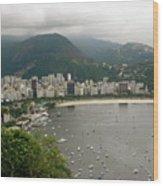 Rio De Janeiro Vi Wood Print