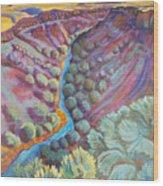 Rio Grande In September Wood Print