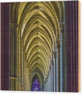 Rising Prayer Wood Print