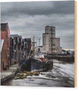 River Hull Wood Print