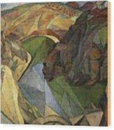 Rivera 10 Diego Rivera Wood Print