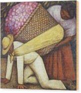 Rivera 43 Diego Rivera Wood Print
