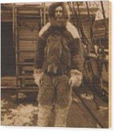 Robert Edwin Peary, American Explorer Wood Print