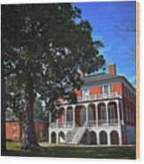 Robert Mills House, Sc Wood Print
