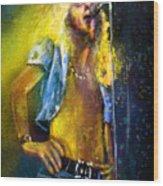 Robert Plant 01 Wood Print